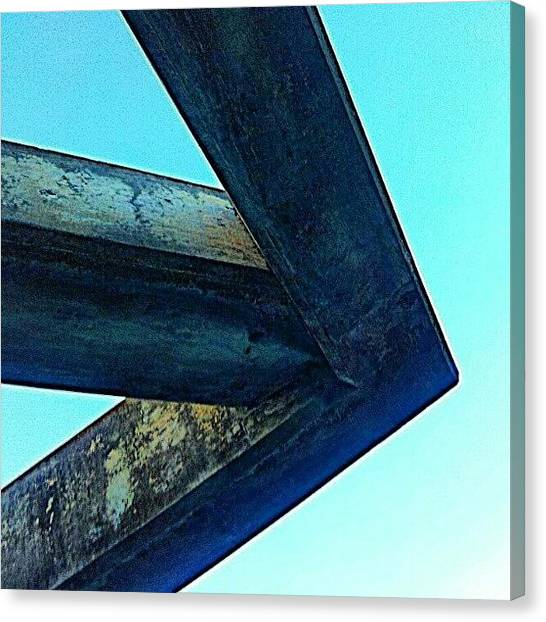 Everglades Canvas Print - Overhang / Corner / Arrow by Elisa Franzetta