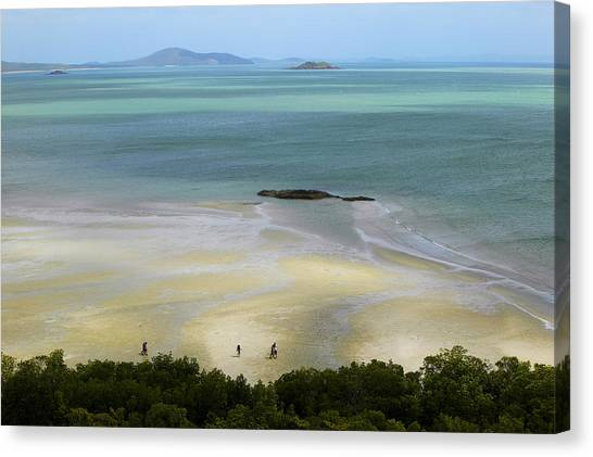Overhead Of Cape York, Mainland Australia's Northernmost Point Canvas Print by Johnny Haglund