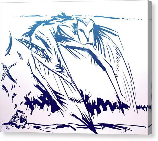 Owl Wind Canvas Print