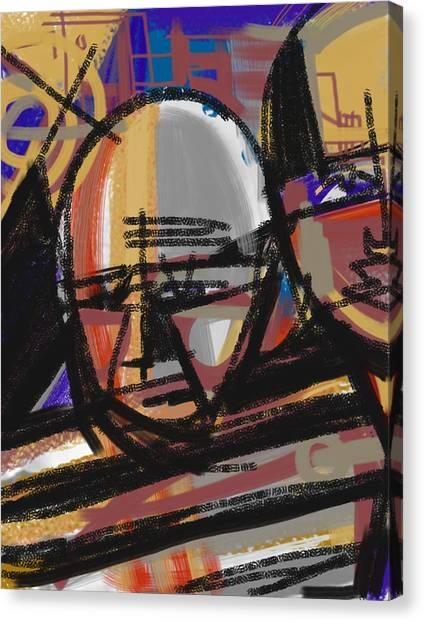 Pablo Picasso Canvas Print - Pablo by Russell Pierce