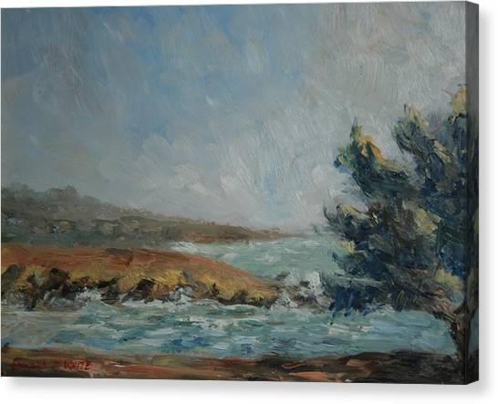 Pacific Air Cambria Coast Canvas Print