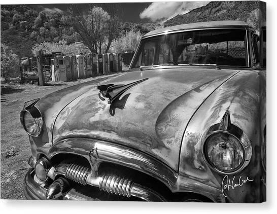 Packard Canvas Print by Christine Hauber
