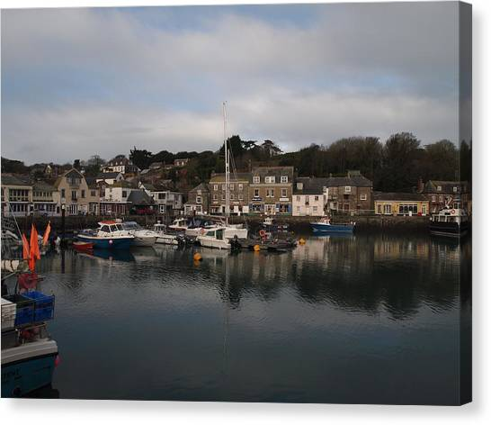 Padstow Harbour Canvas Print by Christopher Mercer