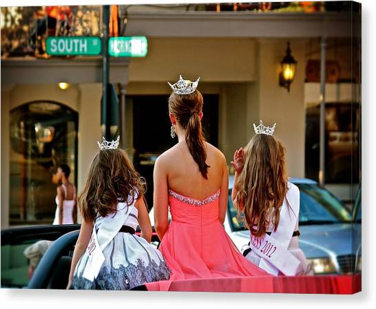 Pageant South Canvas Print