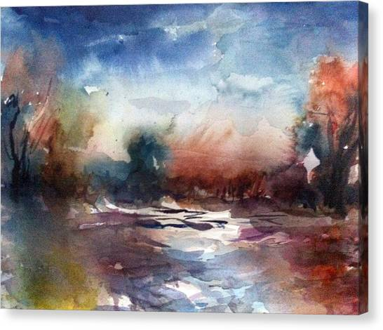 Painland #34 Canvas Print