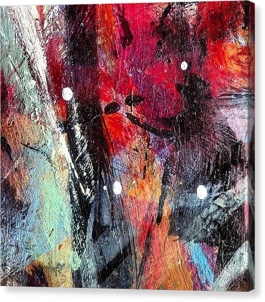 Painters Canvas Print - Paint Table 3 by Nic Squirrell