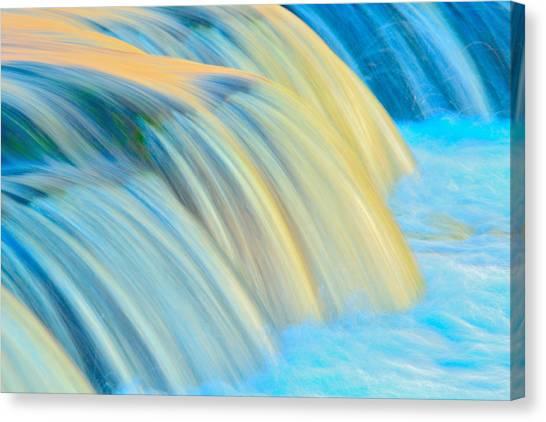 Painted Falls Canvas Print