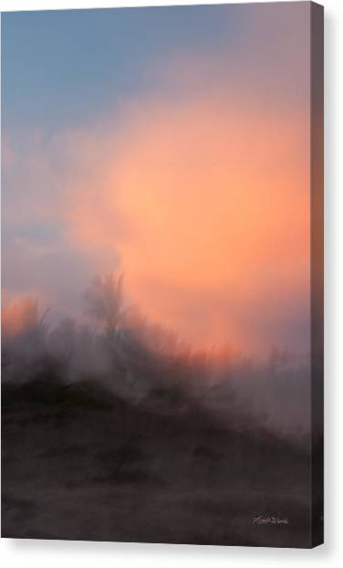 Landscapes Canvas Print - Painted With Light by Michelle Wiarda-Constantine
