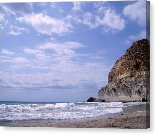 Paisajes Del Cabo De Gata Canvas Print by Eire Cela