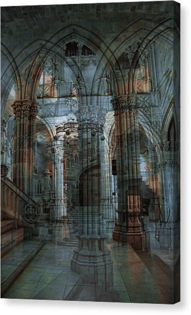 Palace Hall Canvas Print