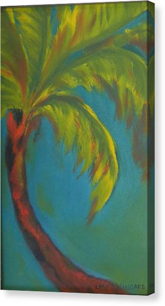 Palm Fusion Canvas Print by Lacey Wingard