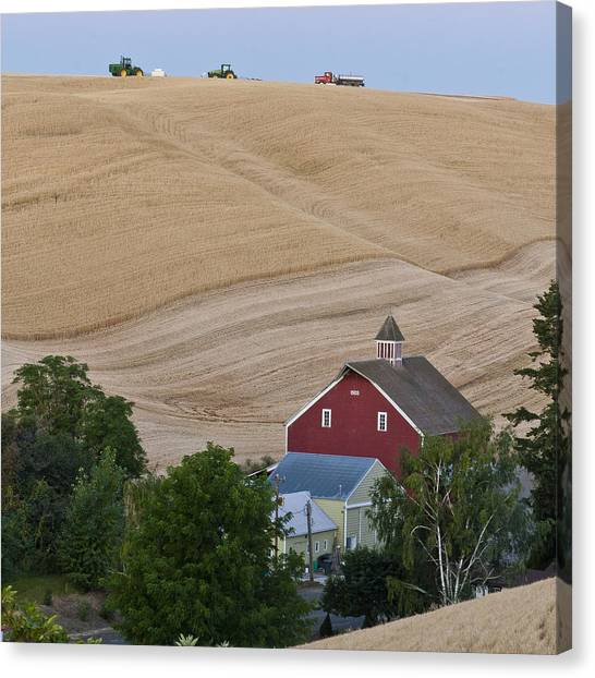 Palouse Wa Farm Canvas Print