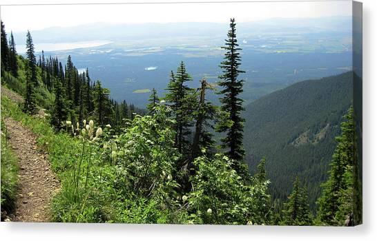 Panoramic Jewel Basin Montana Canvas Print