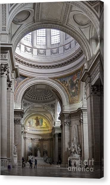 Pantheon Canvas Print