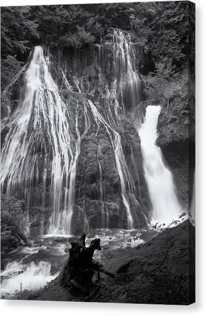 Panther Creek Falls 2 Canvas Print