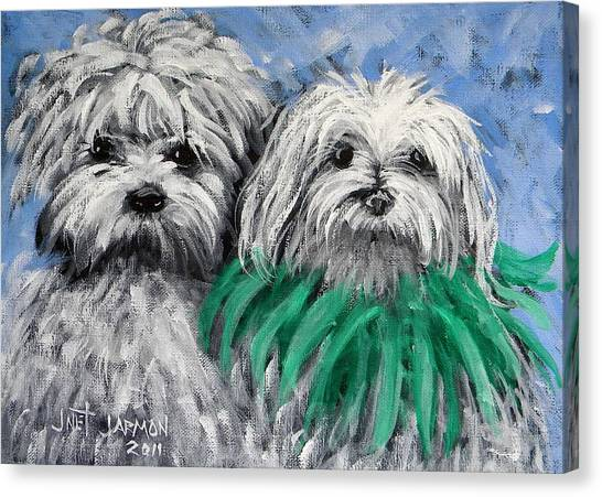 Parade Pups Canvas Print