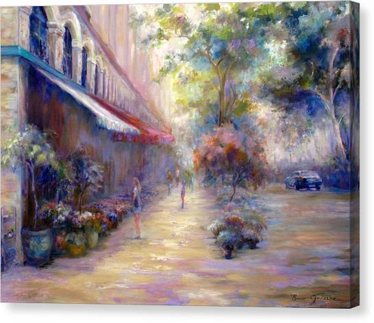 Paris In The Summer Canvas Print