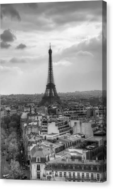 Paris No. 4 Canvas Print