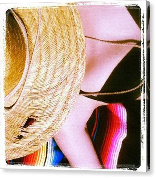 Bikini Canvas Print - Park. Bikini. April. Yes by Erin Lodi