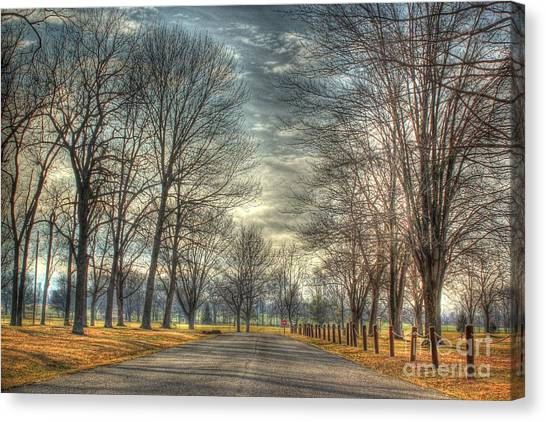 Park Road Canvas Print