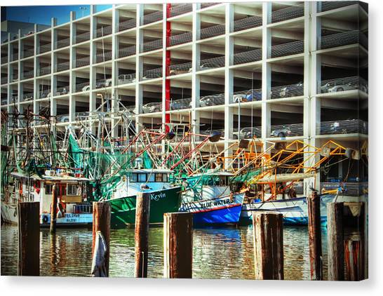 Parked Canvas Print by Barry Jones