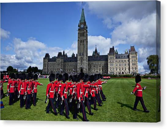 Parliament Canvas Print - Parliament Building Ottawa Canada  by Garry Gay