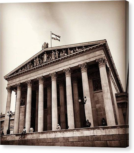 Parliament Canvas Print - #parliament Of #austria ... Sometimes A by Ronald Duck