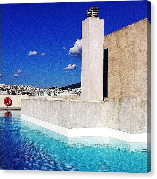 Athens Canvas Print - Part2 by Seras S