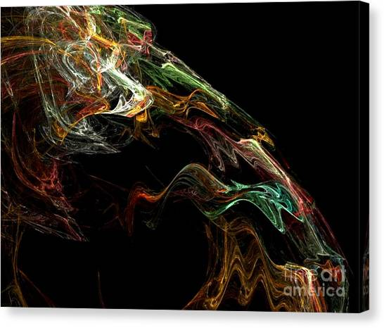 Particles Of Love  Canvas Print