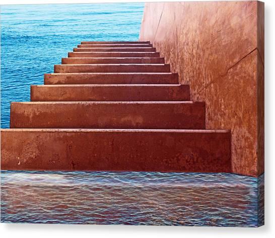 Passage To Atlantis Canvas Print by David Rearwin