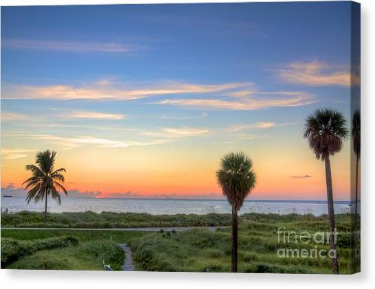 Pastel Dawn Canvas Print by William Wetmore