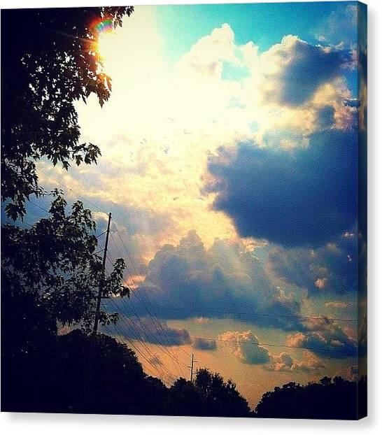Pastel Canvas Print - Pastel Sky by Lori Lynn Gager