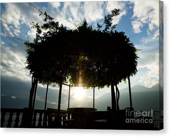 Patio Canvas Print