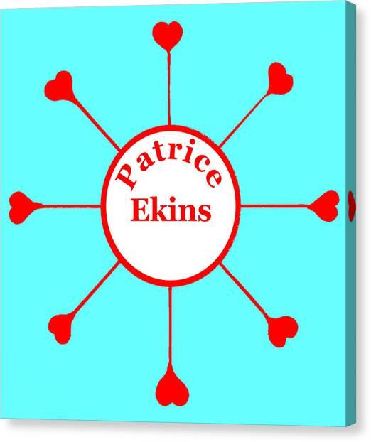 Patrice Ekins Canvas Print