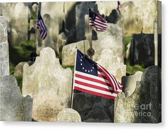 Philadelphia Union Canvas Print - Patriot Cemetery by John Greim