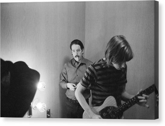 Paul Butterfield And Buzzy Feiten Fillmore East 1968 Canvas Print