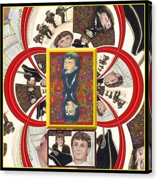 Paul Mccartney Beatles  Canvas Print