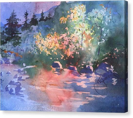 Payson Stream Canvas Print