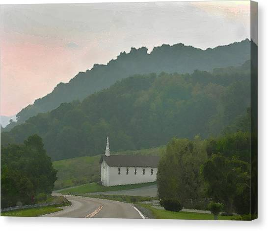 Peace In The Valley Canvas Print