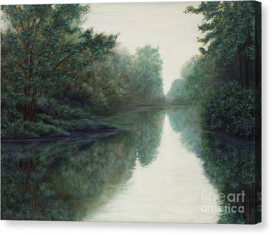 Peace Just Like A River Canvas Print
