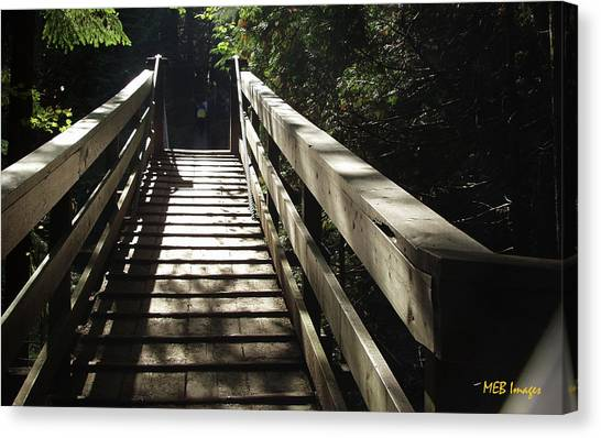 Peaceful Bridge Canvas Print