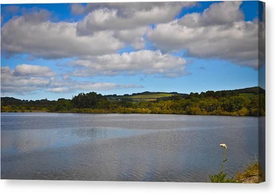 Peaceful Lake Canvas Print by Erica McLellan