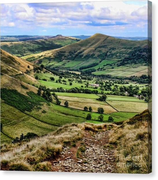 Heaven Canvas Print - Peak District by Abbie Shores