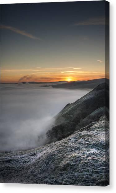 Peak District Sunrise Canvas Print