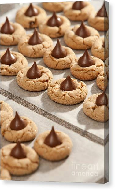 Peanut Blossom Cookies Canvas Print by Will & Deni McIntyre