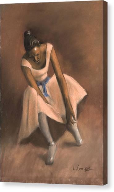 Pearl Joy Canvas Print by L Cooper