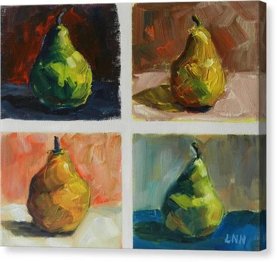 Pears,peru Impression Canvas Print