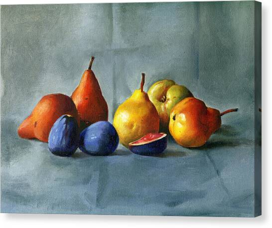 Pears Canvas Print by Tatyana Holodnova