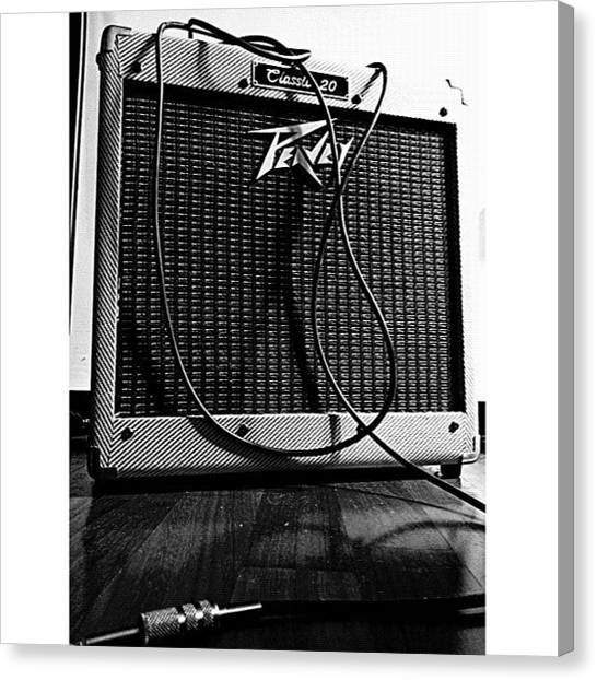 Gears Canvas Print - #peavey #classic20 #classic #guitar by Max Guzzo