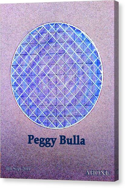Peggy Bulla Canvas Print